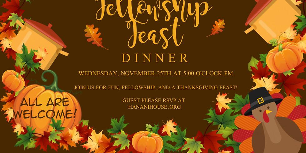 Fellowship Feast