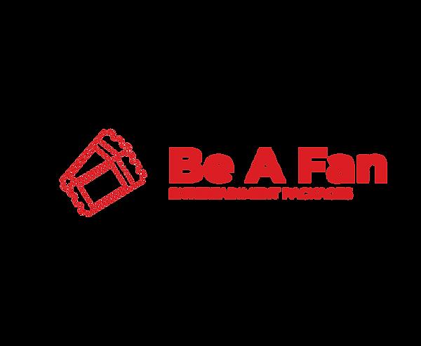 Be A Fan Logo Red.png