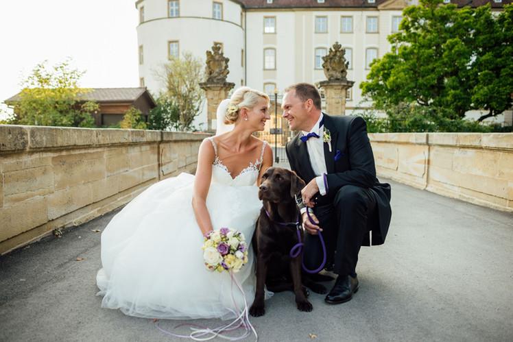 Als Hochzeitsfotograf auf Schloss Langenburg