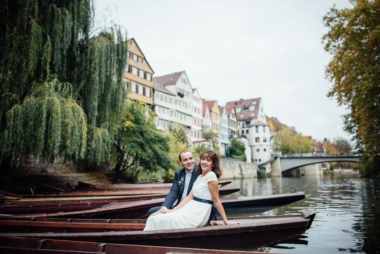 Hochzeitsfotos in Tübingen und bei Reutlingen