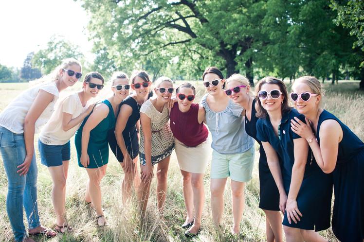 Fotoshooting beim Junggesellinnenabschied