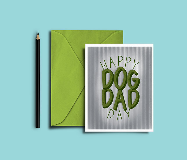 Dog Dad - Father's Day Card