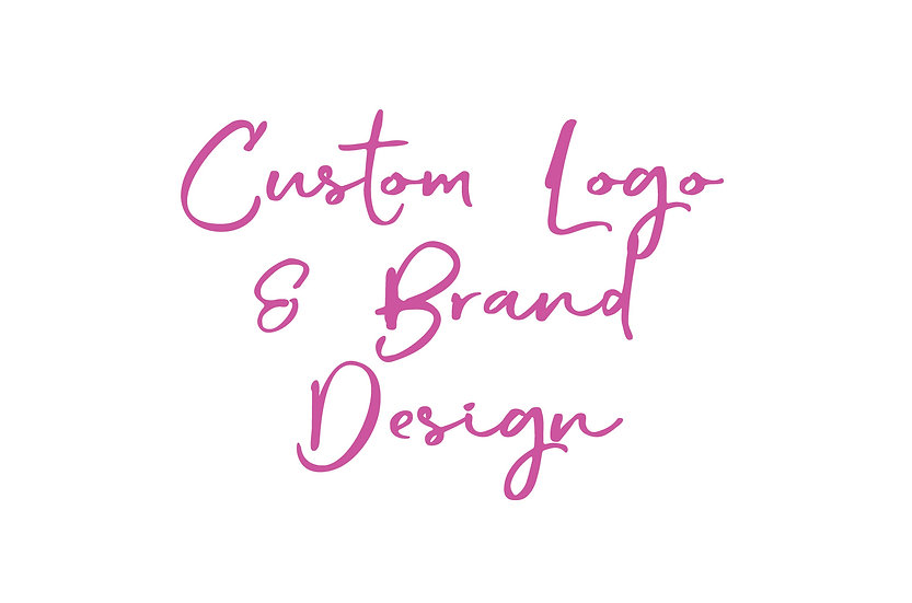 Custom Logo and Brand Design
