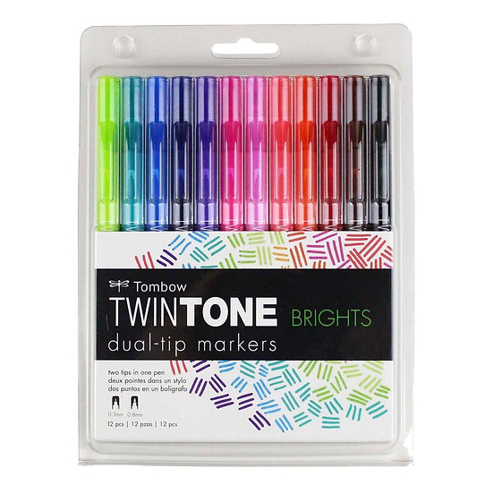 Tombow Twintone Dual Tip (SETS)