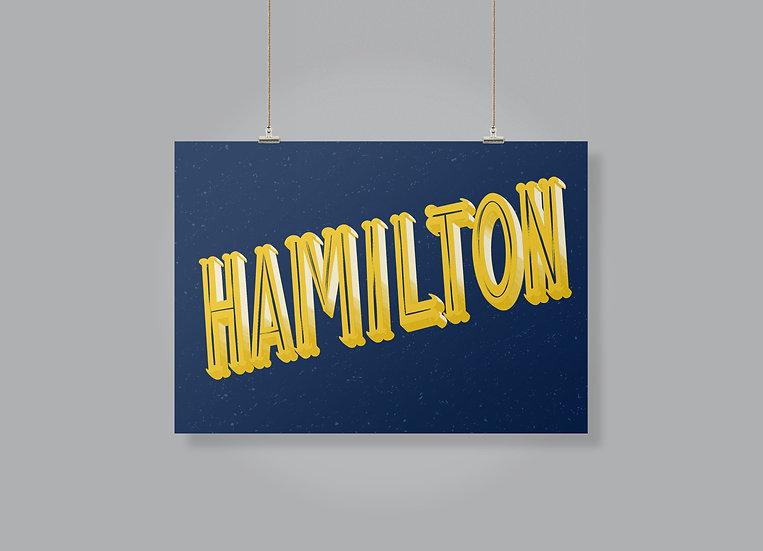 Hamilton print