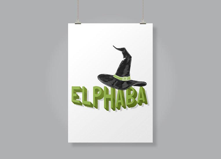 Elphaba Print