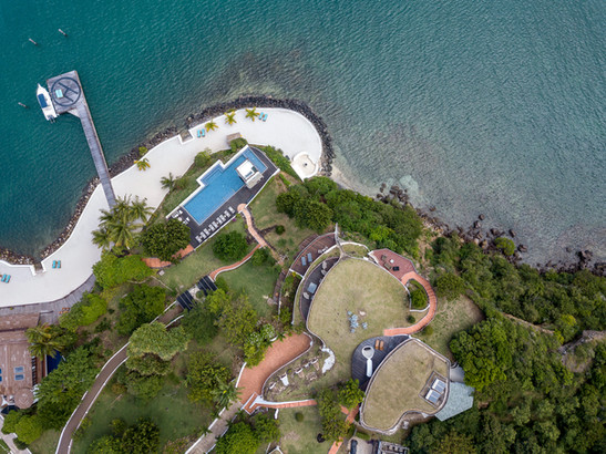 Drone of main house