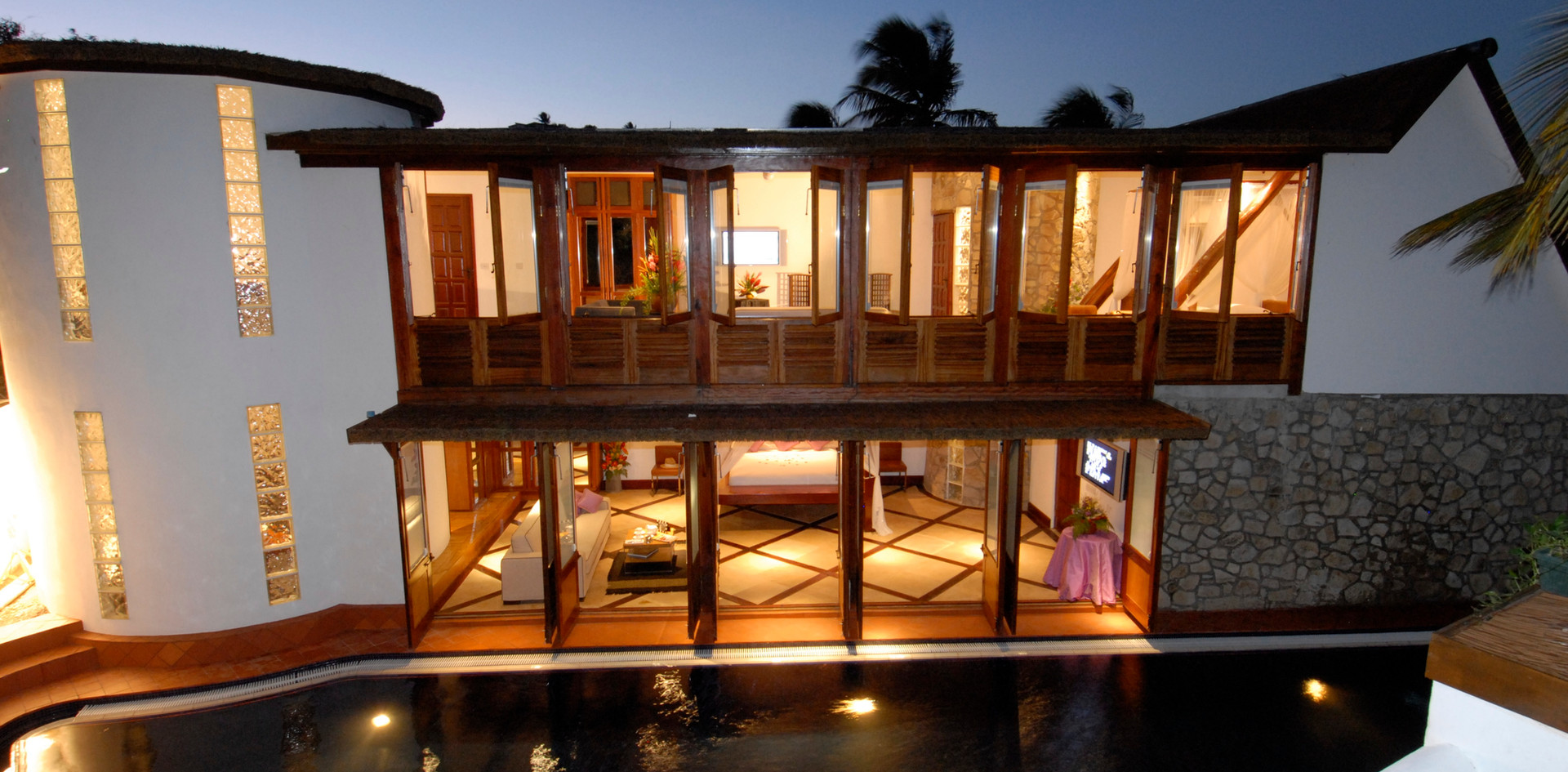 Beach House by night