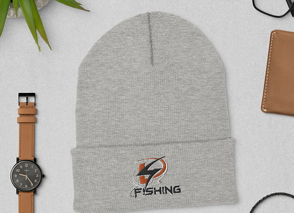 4D Fishing Cuffed Beanie