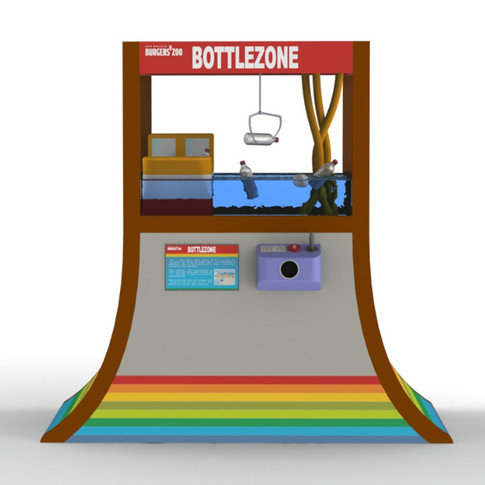 3D Model Bottle Zone