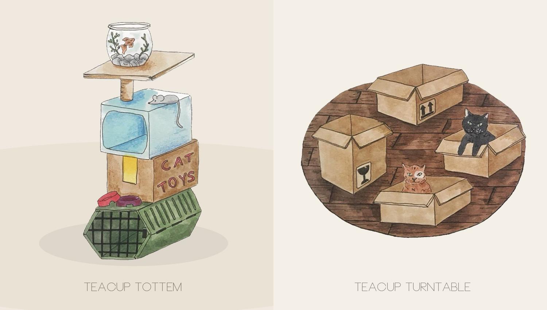 Tea Cups Details
