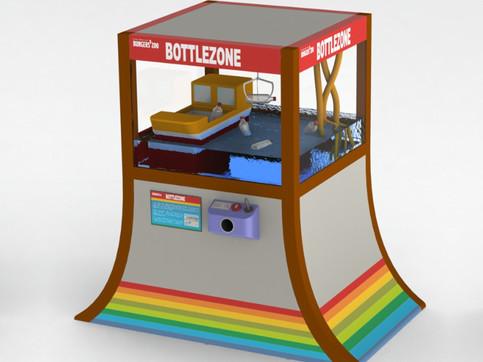 3D Model Bottle Zone
