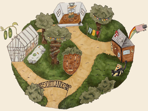 Map Catland