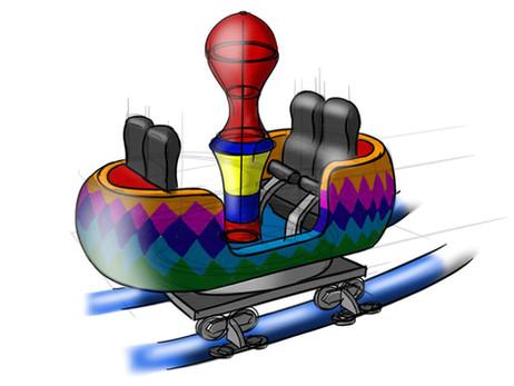 Train Toy Coaster Julianatoren