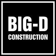 Big-D Construction Logo Vector SVG