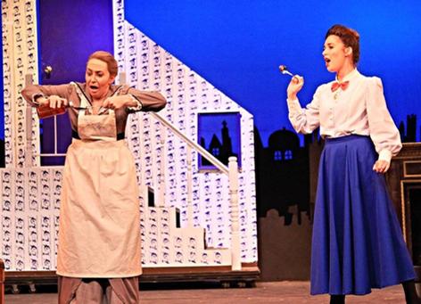 Miss Andrew, Mary Poppins