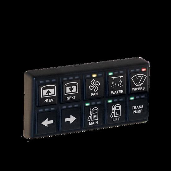 MoTeC Keypad Schalterpanele mit 8 Positionen
