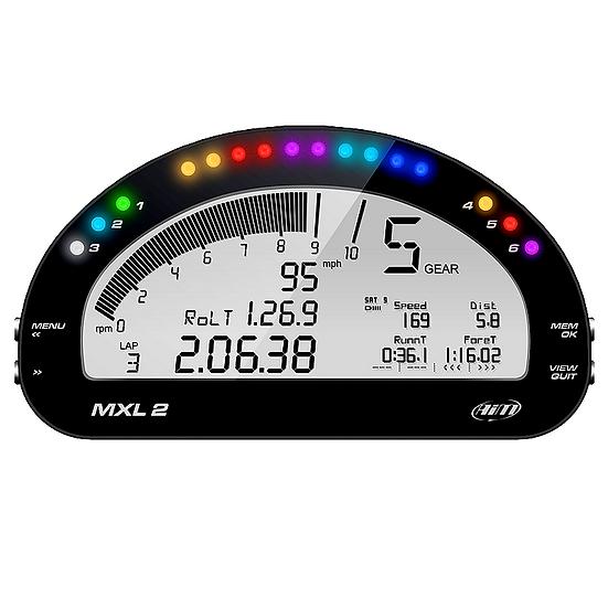 AiM MXL2 Dash