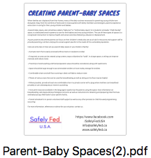 Creating Parent-Baby Spaces