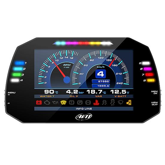 AiM MXG 1.2 Strada Dash