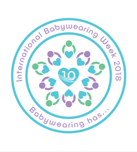 Logo for International Babywearing Week 2018