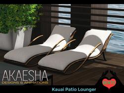 Kauai patio lounger