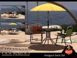 Deck Chair Set