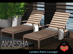 Landon patio