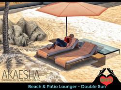 Double Sun lounger