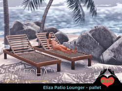 Eliza Pallet lounger
