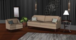 Crawford Sofa Set
