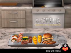 BBQ Grill platter