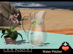 Water Pitcher (Glass)