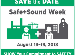 Save the Date : Safe + Sound Week Returns