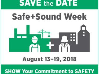 Save the Date : Safe + Sound Week Returns