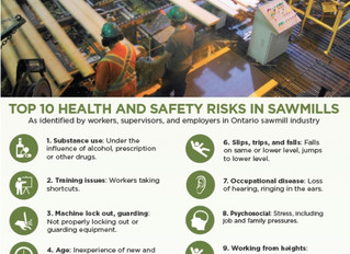 Health And Safety Risks in Sawmills