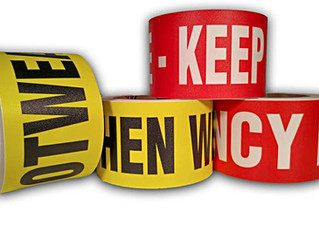 Product Spotlight: Worded Floor Safety Tape