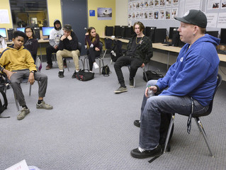Canadian High School Kids Learn About Workplace Safety From A Victim.