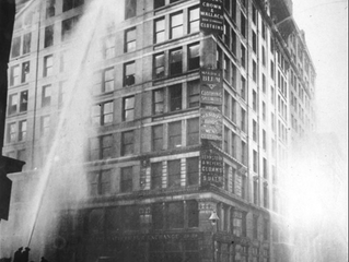 Triangle Shirtwaist Factory Fire - March 25th, 1911