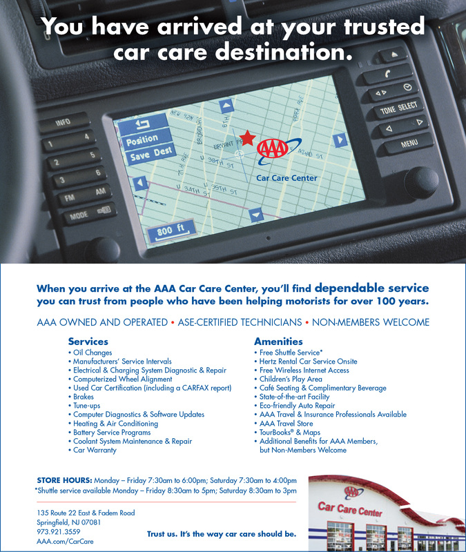 Ad & Flyer Series for Car Care