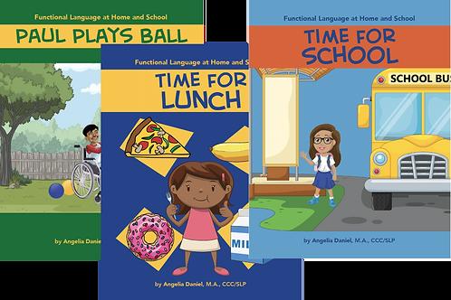 Series of Three Books