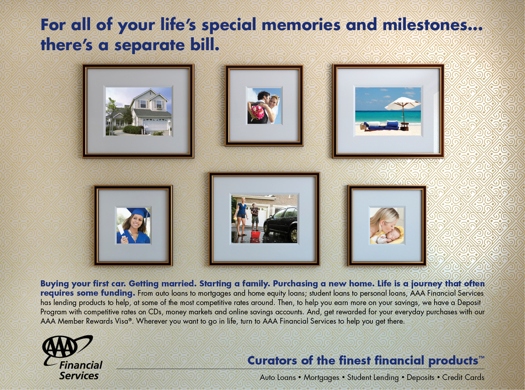 Ad series for financial services