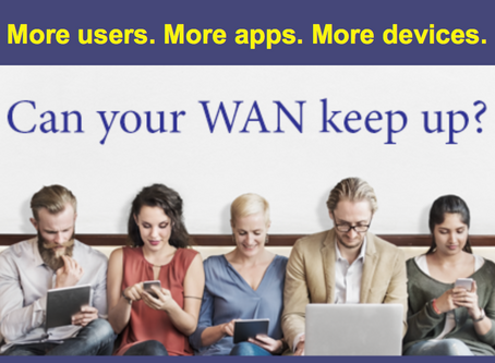More Users. More Apps. More Devices. Can Your WAN Keep Up?