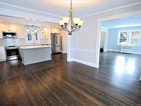 I HAVE AN OPEN CONCEPT HOME: CAN I PUT DIFFERENT TYPES OF WOOD FLOORS IN THE SAME ROOM? - BY JASON C