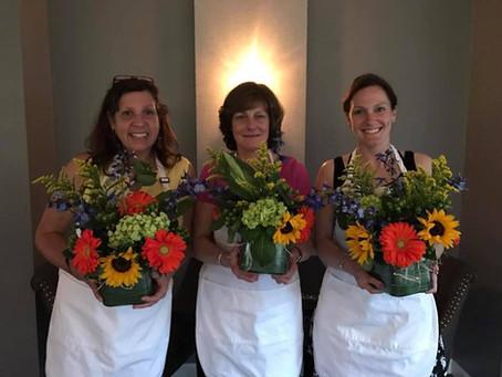 Flower Arranging Class at Waterfall -- Wednesday, June 9, 6:30pm