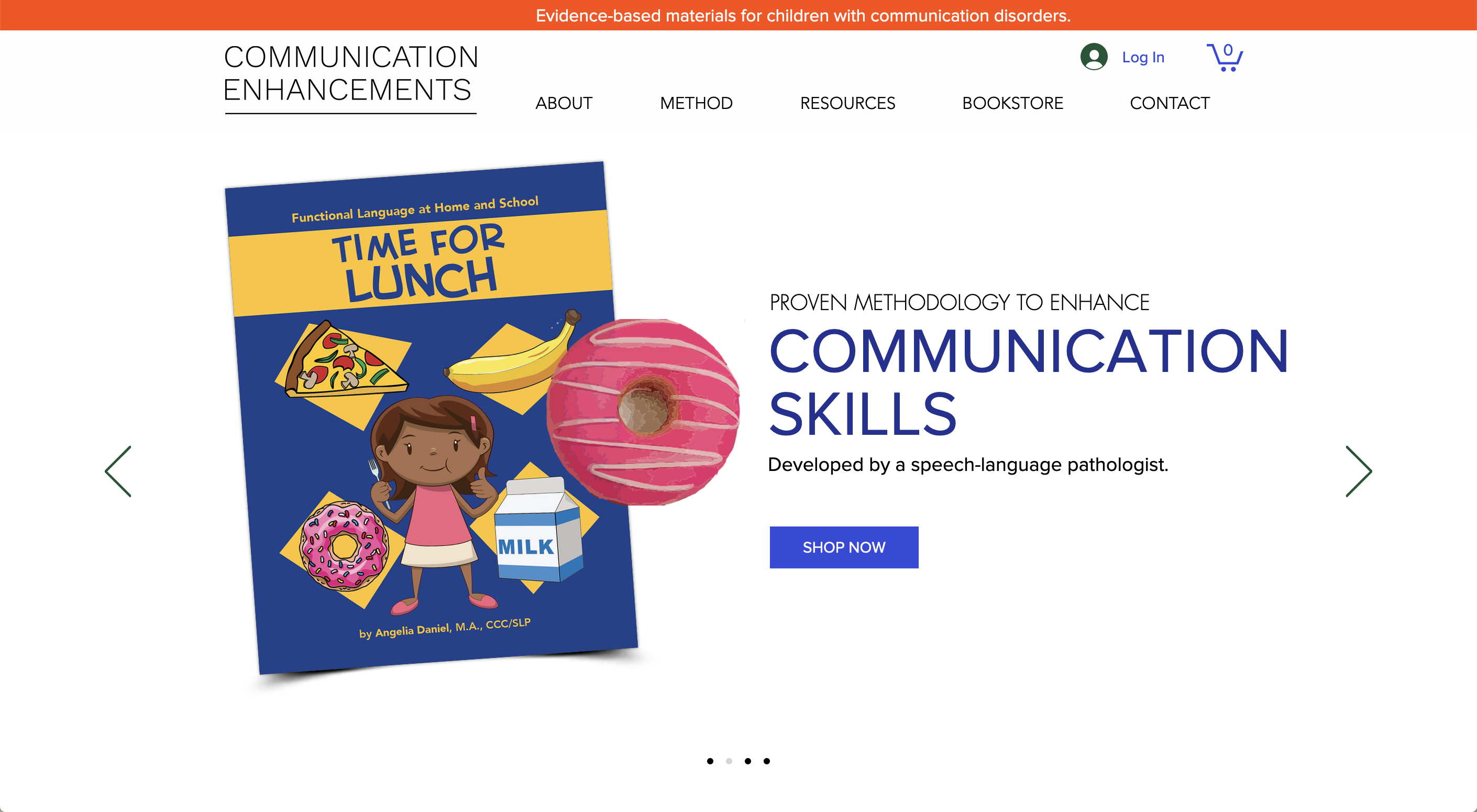 Communication Enhancements Website
