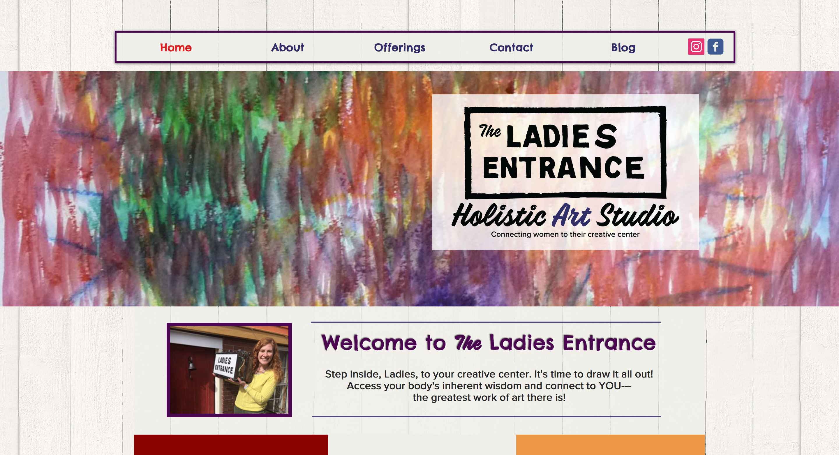 The Ladies Entrance