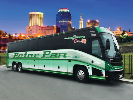 Peter Pan Bus Lines turns motorcoaches into mobile COVID testing and vaccination sites