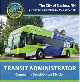 Nashua Transit System Career Opportunity