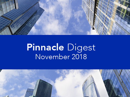 Read the Just-Published November 2018 Pinnacle Digest